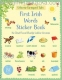 100 First English Words Sticker Book (100 First Words Sticker Books) 0