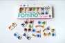 DOMINO Animals white set 2