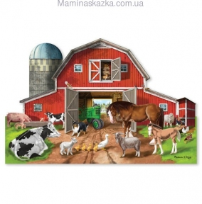 Busy Barn Shaped Puzzle (32pc) (