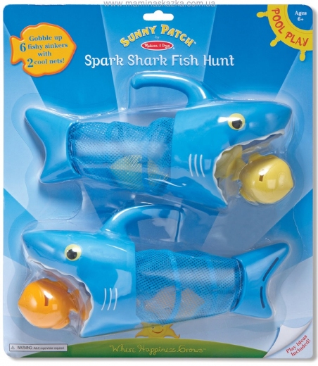 Spark Shark Fish Hunt Pool Toy (Водная игра