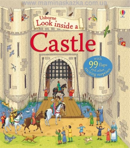 Look Inside a Castle (Usborne Look Inside)