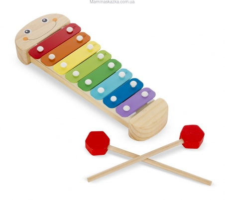 Wooden Caterpillar Xylophone (Ксилофон Гусеница) MD8964