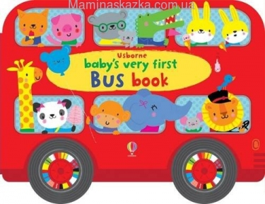 Baby's Very First Bus Book (Baby's Very First Books)