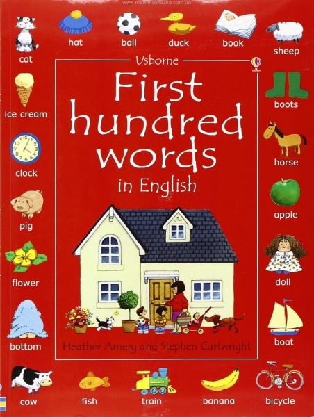 First Hundred Words in English (Usborne First Hundred Words)