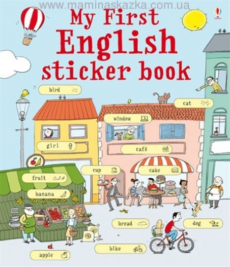 My First English Sticker Book (My First Sticker Book)