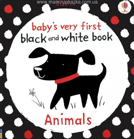 Baby's Very First Black and White Book: Animals