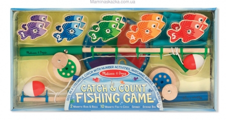 Catch & Count Fishing Game (Набор магнитный