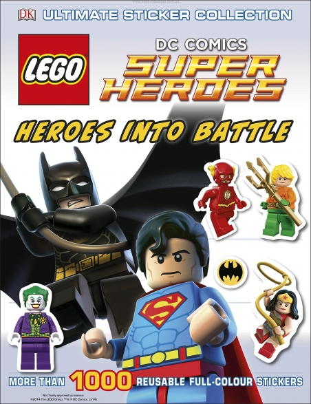 LEGO DC Super Heroes: Heroes into Battle: Ultimate Sticker Collection (Ultimate Stickers)