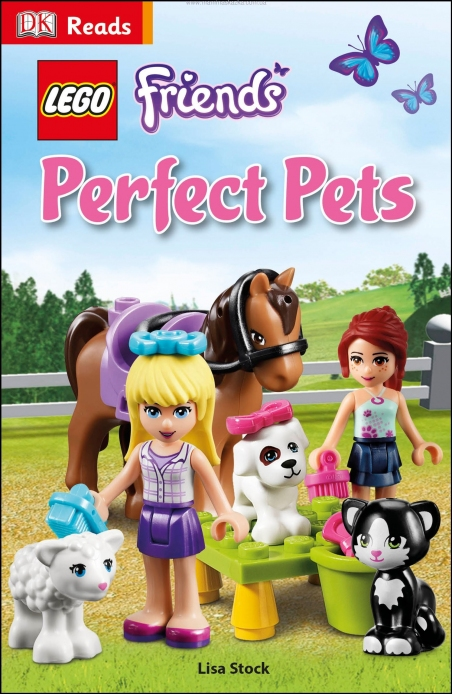 LEGO Friends Perfect Pets (DK Reads Beginning to Read)