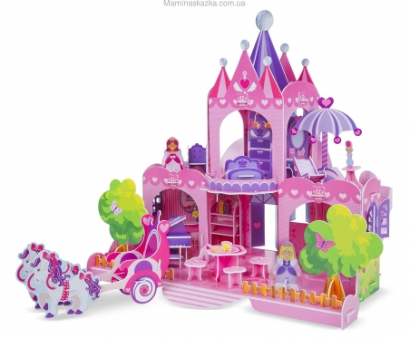 Pink Palace 3D Puzzle (3D пазлы