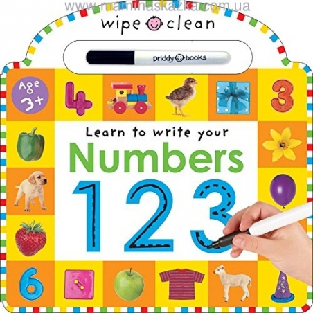 Wipe Clean Numbers
