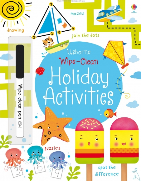 Wipe-Clean Holiday Activities (Wipe Clean Activity Book)