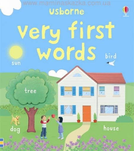 Very First Words (Usborne First Words Board Books)