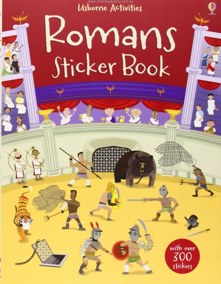 Romans Sticker Book (Usborne Sticker Books)