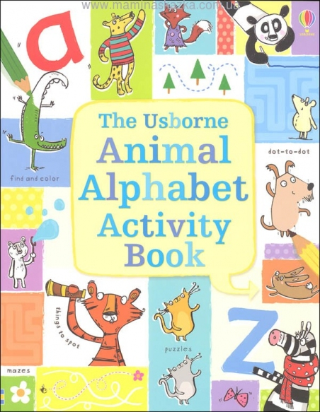 Animal Alphabet Activity Book