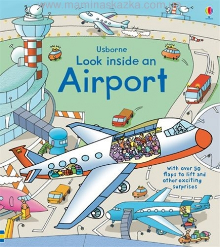 Look Inside an Airport (Usborne Look Inside)