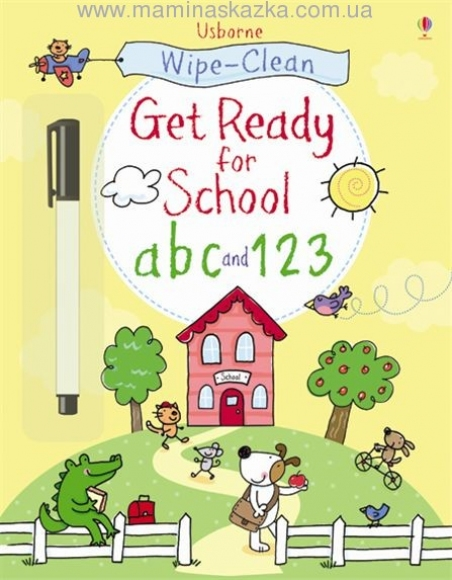 Wipe-clean Get Ready for School ABC and 123 (Wipe Clean Books)