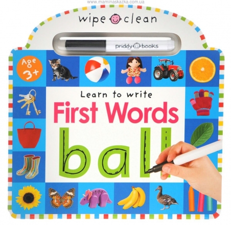 First Words (Wipe Clean Learning)