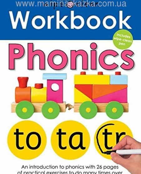 Phonics (Wipe Clean Workbooks)