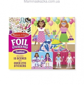 Fabulous Foil Sticker Pad- Fashion (Фольга-наклейки