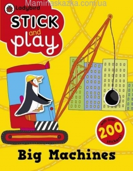 Big Machines: Ladybird Stick and Play Activity Book