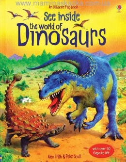 See Inside: The World of Dinosaurs (Usborne Flap Books)