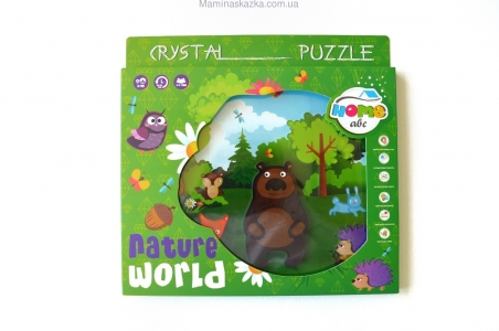 Crystal Puzzle Nature world