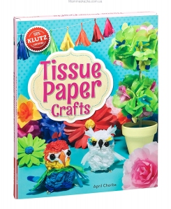 Tissue Paper Crafts: Colorful Decorations Craft Kit