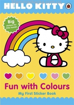 Hello Kitty Fun with Colours My First Sticker Book