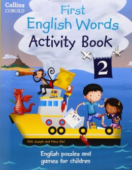My First English Words Activity Book 2