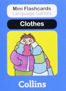 Clothes (Mini Flashcards Language Games)