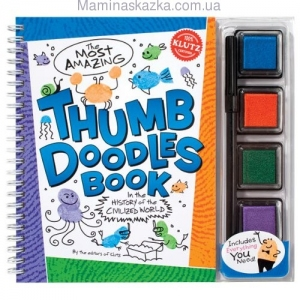 The Most Amazing Thumb Doodles Book: In The History of The Civilized World Book