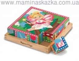 Princess & Fairy Cube Puzzle (Кубики