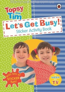 Let's Get Busy A Ladybird Topsy And Tim Sticker Activity Book