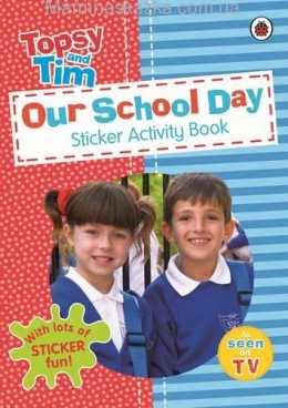Our School Day A Ladybird Topsy And Tim Sticker Activity Book