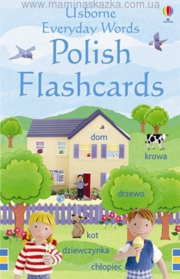 Everyday Words Flashcards: Polish