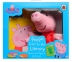 Peppa Goes to the Library - Book and Puppet
